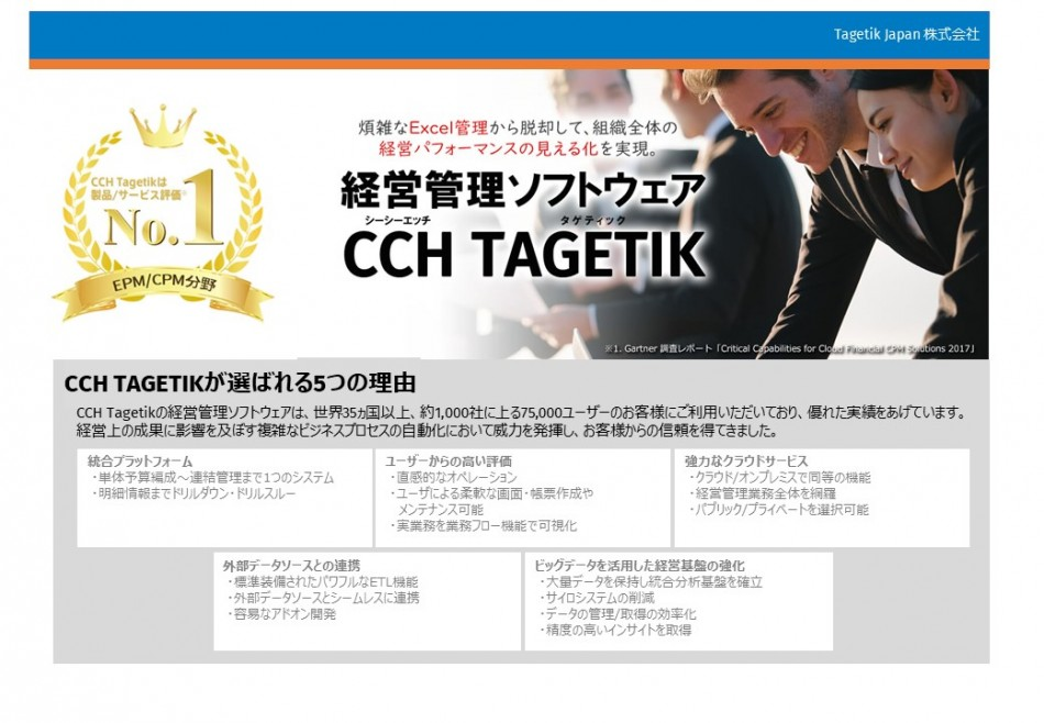 CCH Tagetik 製品詳細2