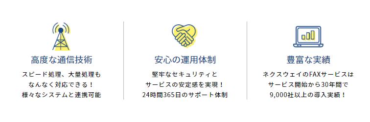 FNX e-帳票FAXサービス製品詳細1