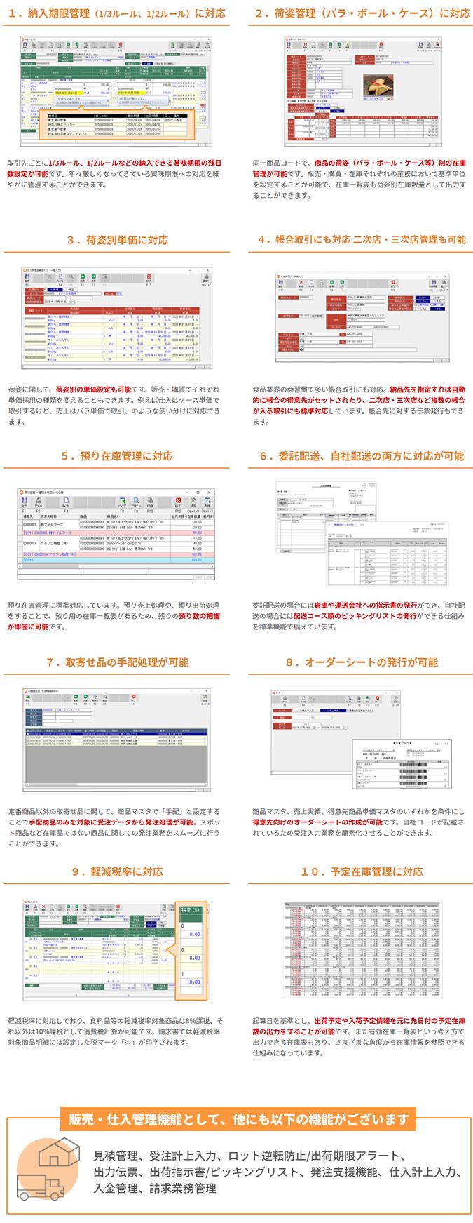 アラジンオフィス for foods製品詳細3