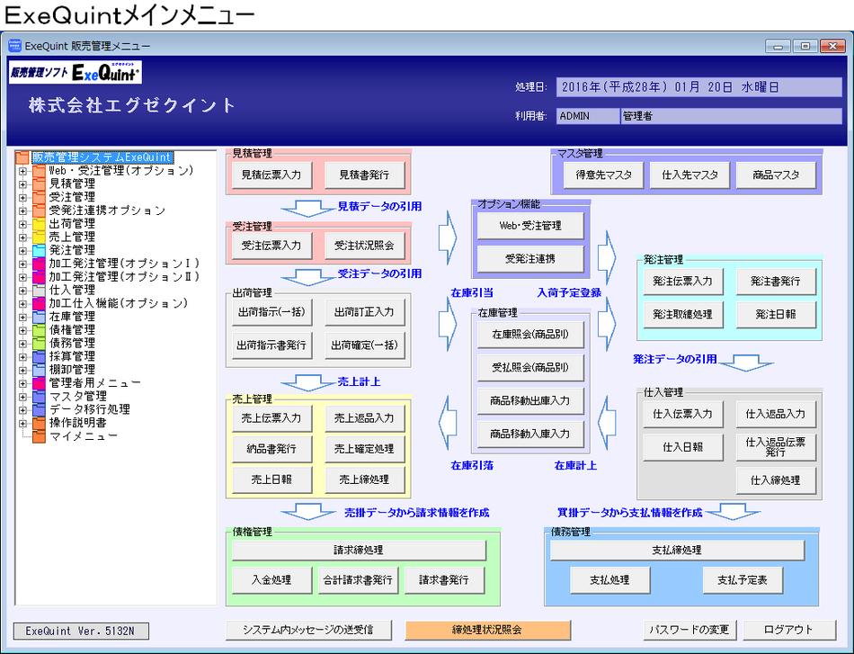 販売管理ソフト「ExeQuint(エグゼクイント)」導入効果1