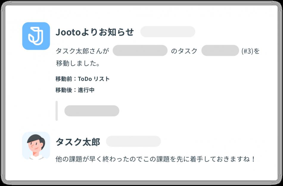 jooto(ジョート)導入効果1