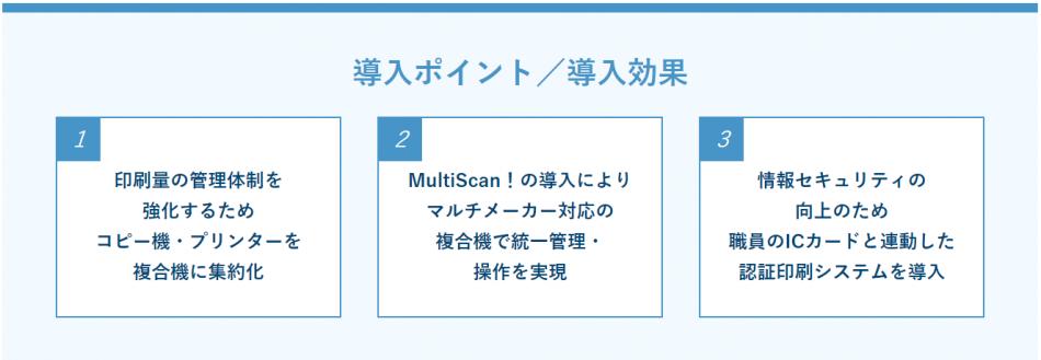 SmartSESAME MultiScan!導入効果1