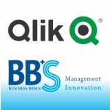 BI から AI へ Qlik Senseのロゴ画像