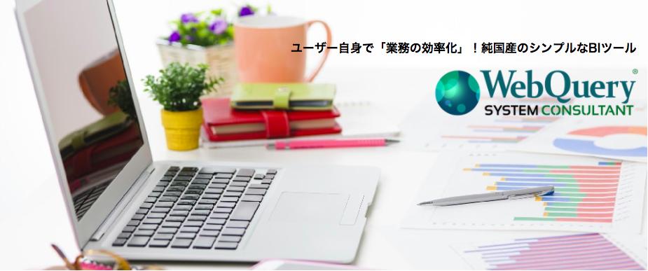 ユーザー自身で「業務の効率化」!純国産のシンプルなBIツール