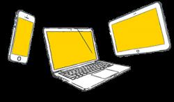 BYODに対応(マルチデバイス・マルチプラットフォーム)