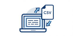 CSV入力・出力機能でデータ連携をスマートに