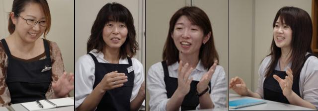 テレコン事業部計画課のメンバー:(左から)松井氏、木内氏、吉田氏、博田氏