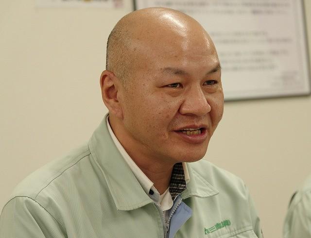 管理本部人事グループグループリーダーの宮崎信弘氏