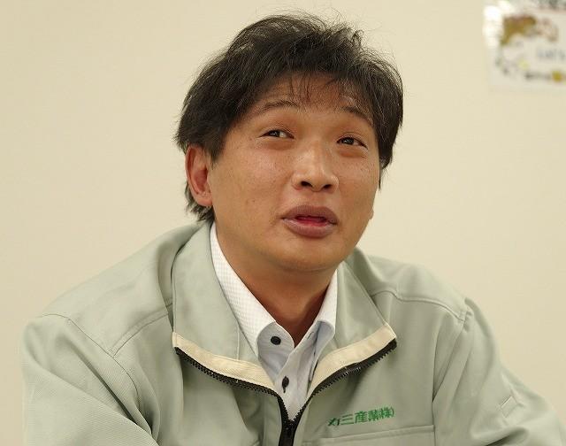製販管理部部長の福元昭弘氏