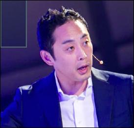 代表取締役社長の渡邉淳氏。<br /> 「Salesforceを社内に定着させる上で大切なのは、経営層や管理職が率先して取り組むこと。